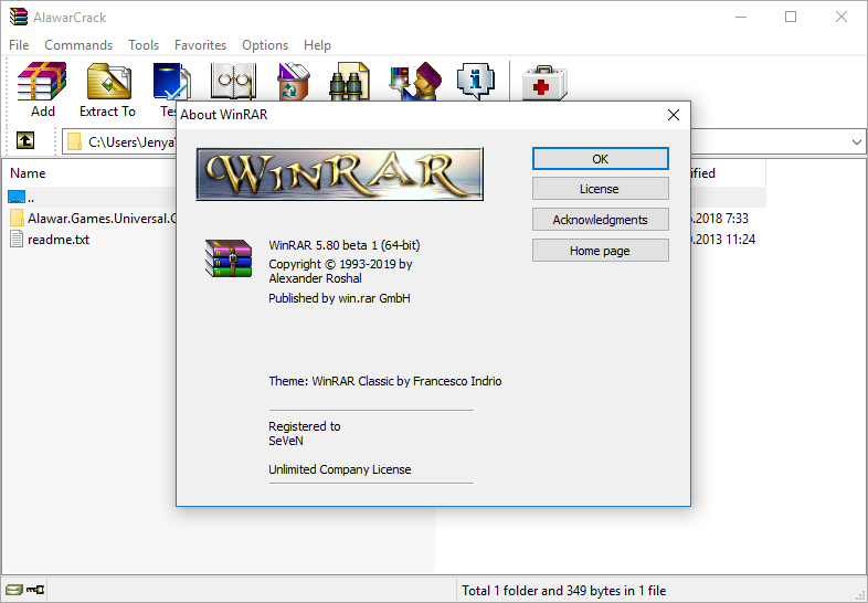 winrar cracked full 64 bit