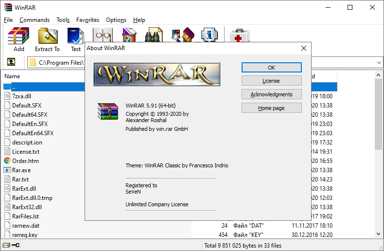WinRAR 5.91 64 bit Full Crack License Key 2020 | Felix Crack
